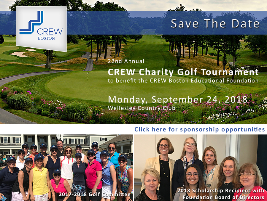 Save the date for the 2018 Charity Golf Tournament