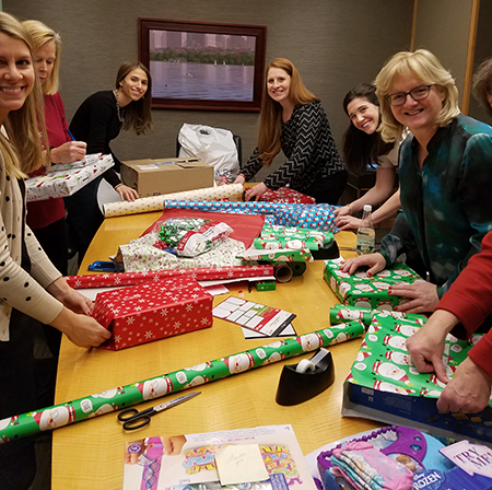 Holiday Gift Wrapping Party to benefit the Carolina Hill Shelter