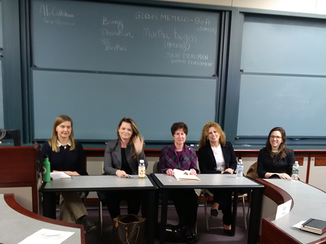 UCREW Panel at Boston University