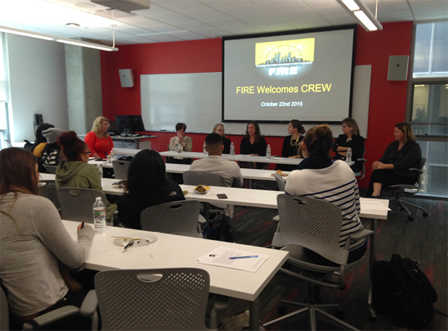 UCREW Panel at Suffolk University