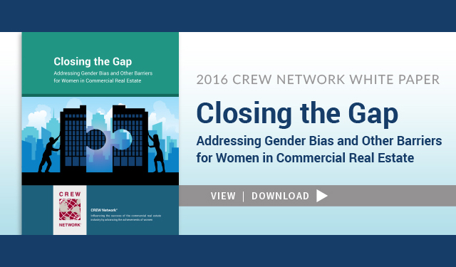 CREW Network's releases latest industry research white paper.