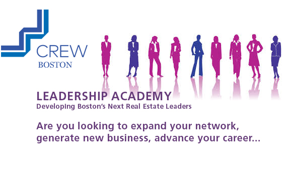CREW Boston is now accepting applications for CREW Boston's Leadership Academy