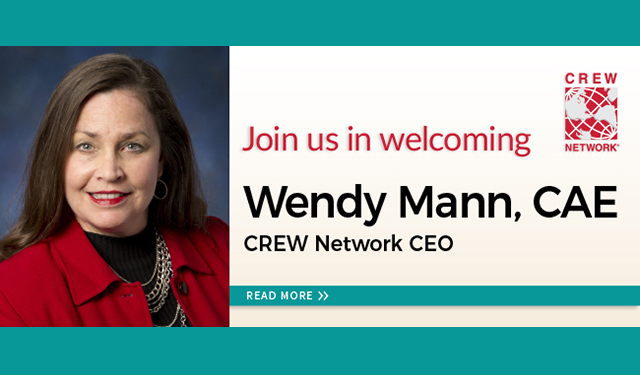 Meet CREW Network's new CEO, Wendy Mann, CAE