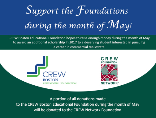 Support the Foundations during the month of May