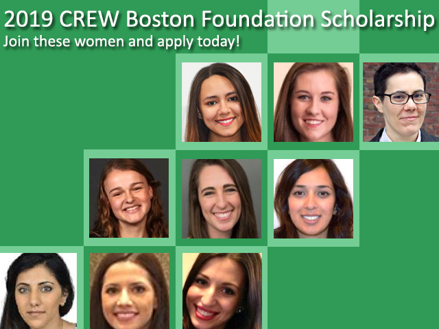 CREW Boston Educational Foundation is now accepting applications for the 2019 Scholarship