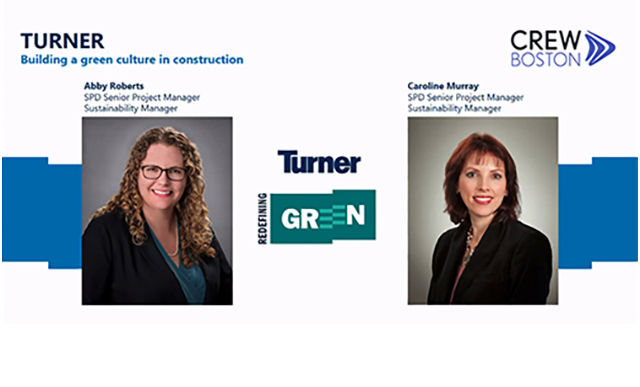 Turner: Creating a Green Culture in Construction